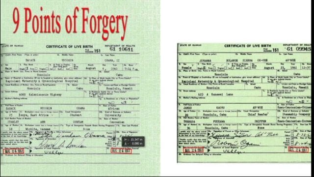birth certificate obama president questions